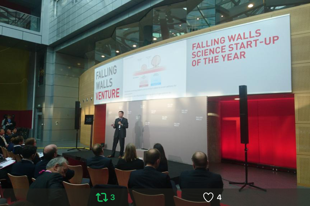 MTI selected to present at Falling Walls Venture in Berlin, Germany